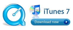 Download iTunes and Quicktime Now!